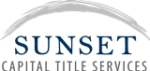 Sunset Capital Title Services Email Logo